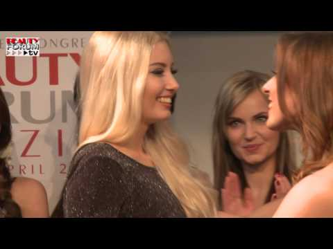 BEAUTY FORUM LEIPZIG 2016: Siegerehrung MISS LEIPZIG