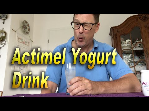 Actimel Blueberry Yogurt
