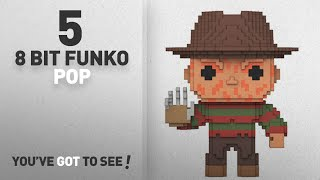 Top Funko 8 Bit Pop Featuring: Funko 8 Bit Pop: Horror-Freddy Krueger Collectible Figure