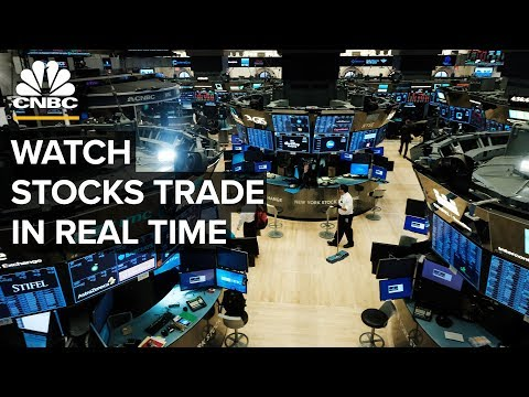 Watch Stocks Trade In Real Time Amid Market Volatility - 3/25/2020