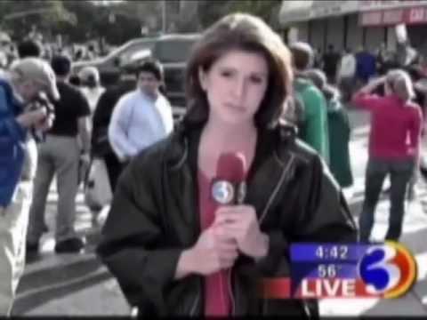 WFSB: 9/11 Report Flashback - Kim Fettig Live in New York (Flashback 2)