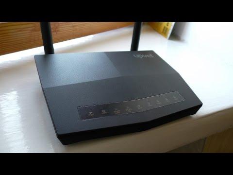 Гигабитный Wi-Fi 802.11ac роутер Upvel UR-825AC. IP-TV и 3G/4G/LTE модемы