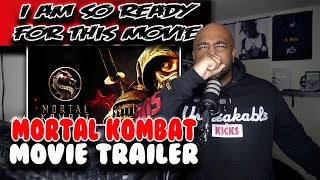 THIS MOVIE IS ABOUT TO BE GOATED| Mortal Kombat ( Movie Trailer ) | Reaction