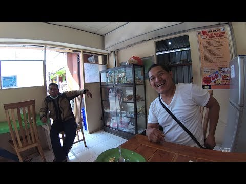 Indonesia Bali Street Food 1806 Part.7 Vegetarian Bpk.Harinatha Pakar Yoga  YN060839