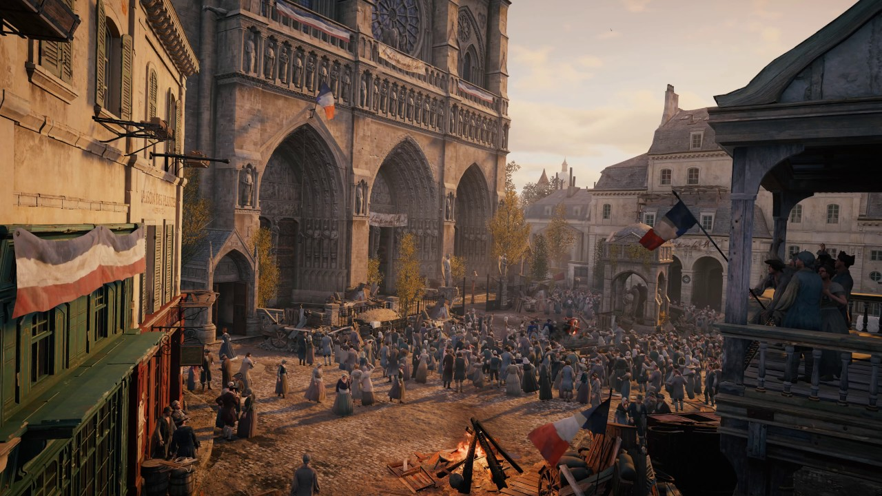 The French Revolution - (AC Unity) - [Live Wallpaper ...