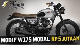 Modif W175 Modal Rp 5 Jutaan!!! [Garage Vlog]