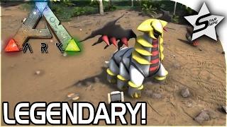 THE LEGENDARY GIRATINA!! - POKEMON ARK MOD - ARK Pokemon Evolved Gameplay Part 4