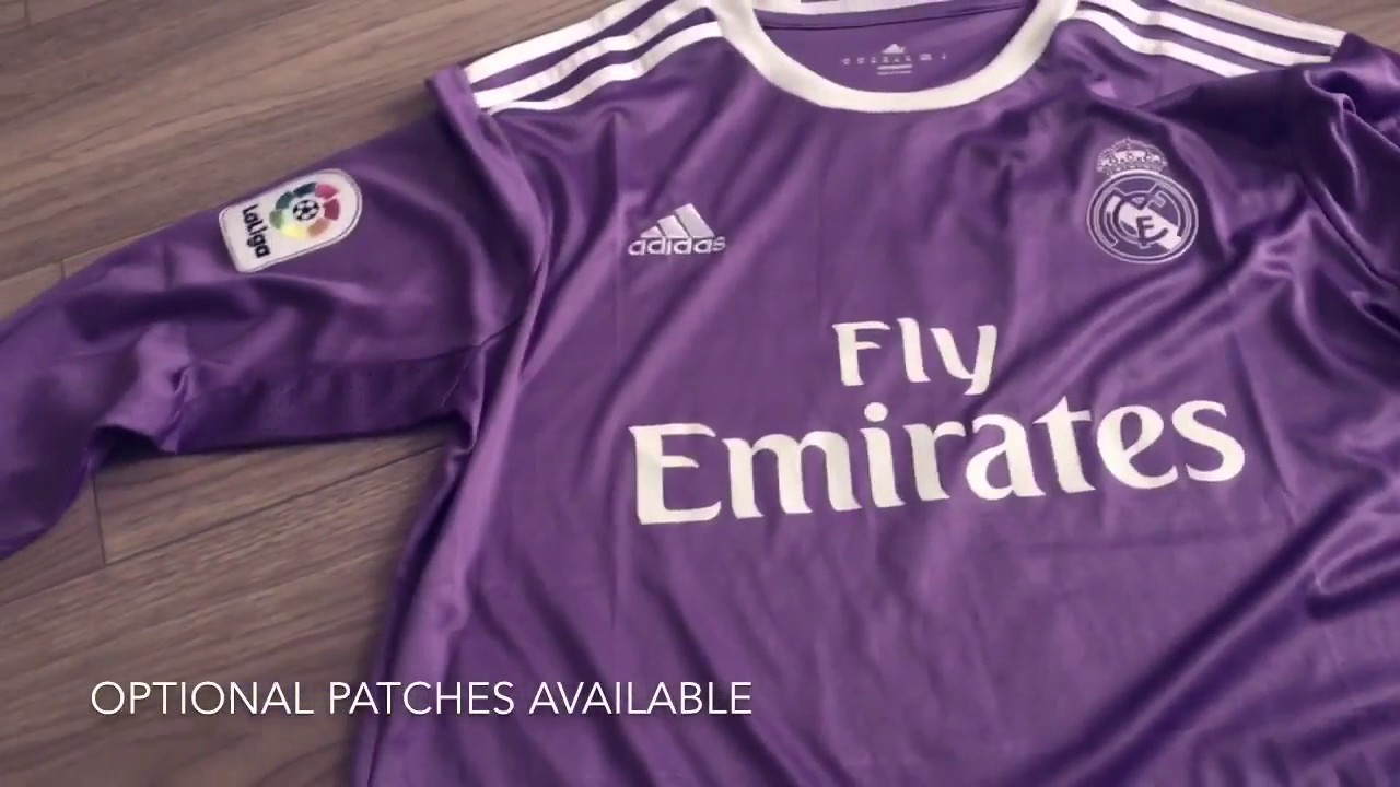 5ada34a01 Real Madrid Away Jersey 16 17 Soccer777 1 - YouTube