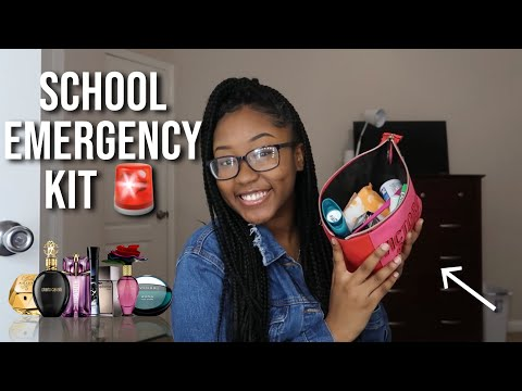 Everything You NEED In Your School Emergency Kit/Bag !