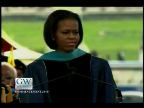GW Commencement 2010: First Lady Michelle Obama