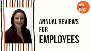 Annual Reviews for employees