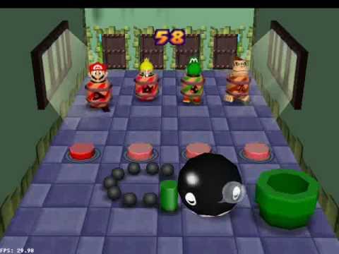 Mario Party 2 Mini-Game,Coaster(5/5)[TAP] - YouTube