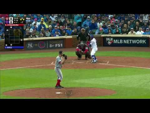 Stephen Strasburg 12 Ks vs Cubs | Nationals vs Cubs Game 4 NLDS