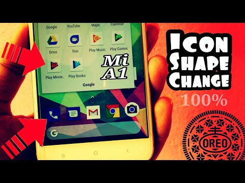 Xiaomi Mi A1 Icon Shape Change Option For Every Device Running Oreo