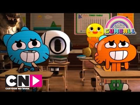 When Teachers Leave the Room | The Amazing World of Gumball | Cartoon Network