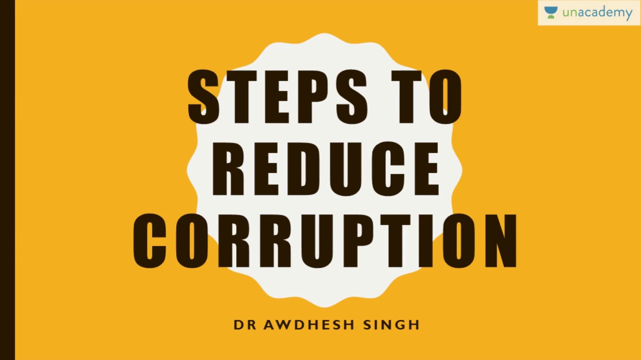 long essay on corruption