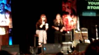 Saturday panel Ruth Connell #DallasCon