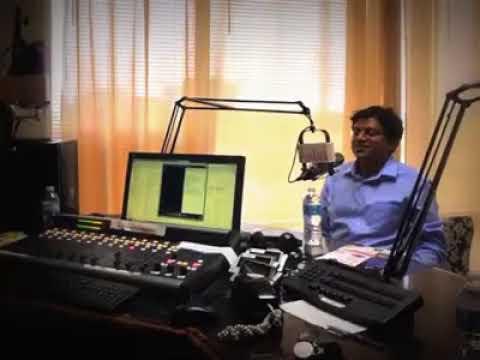 Radio Host KC with Babu Gogineni & Chandra Kanneganti live at Dallas Yuva Telugu Radio (May 2016)