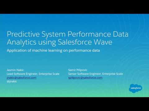 Predictive System Performance Data Analytics using Salesforce Wave