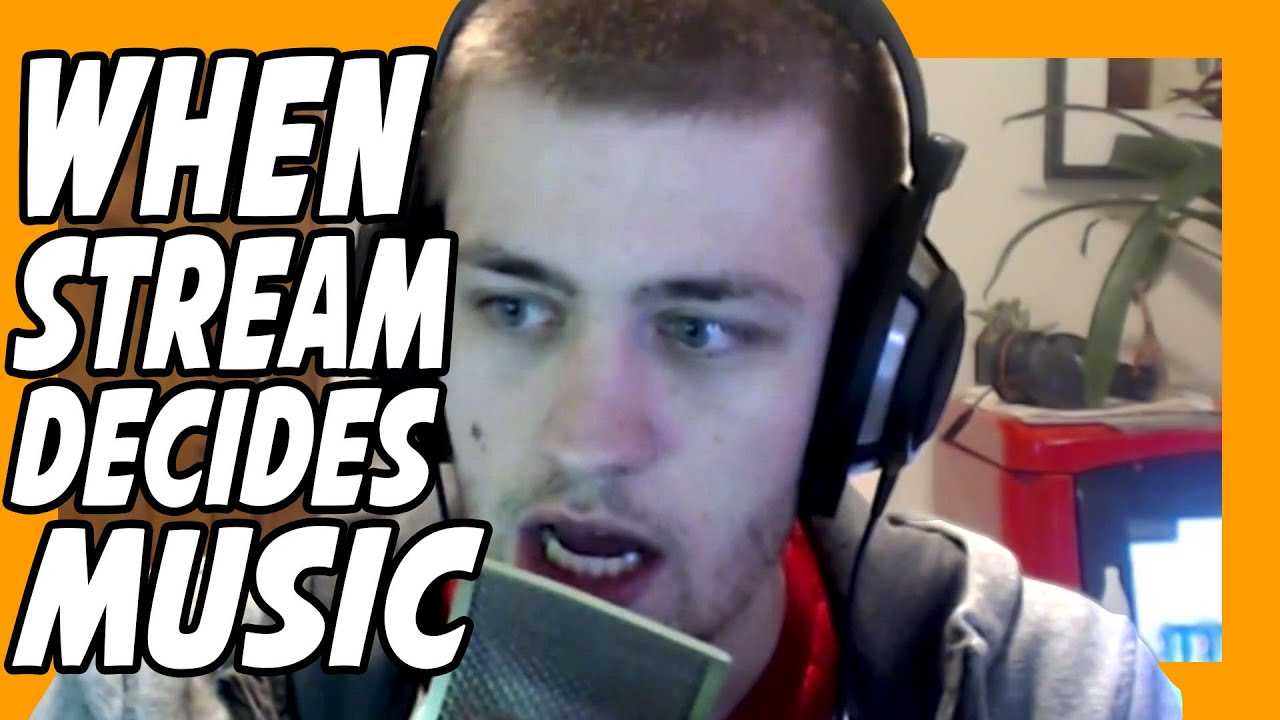 When The Stream Decides Music For The Day (LOUD)