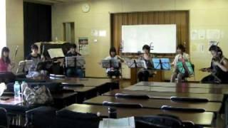 二胡合奏:石村美奈子、稲田美和子、河野朝子、小沼恭子、出倉均、牧野...