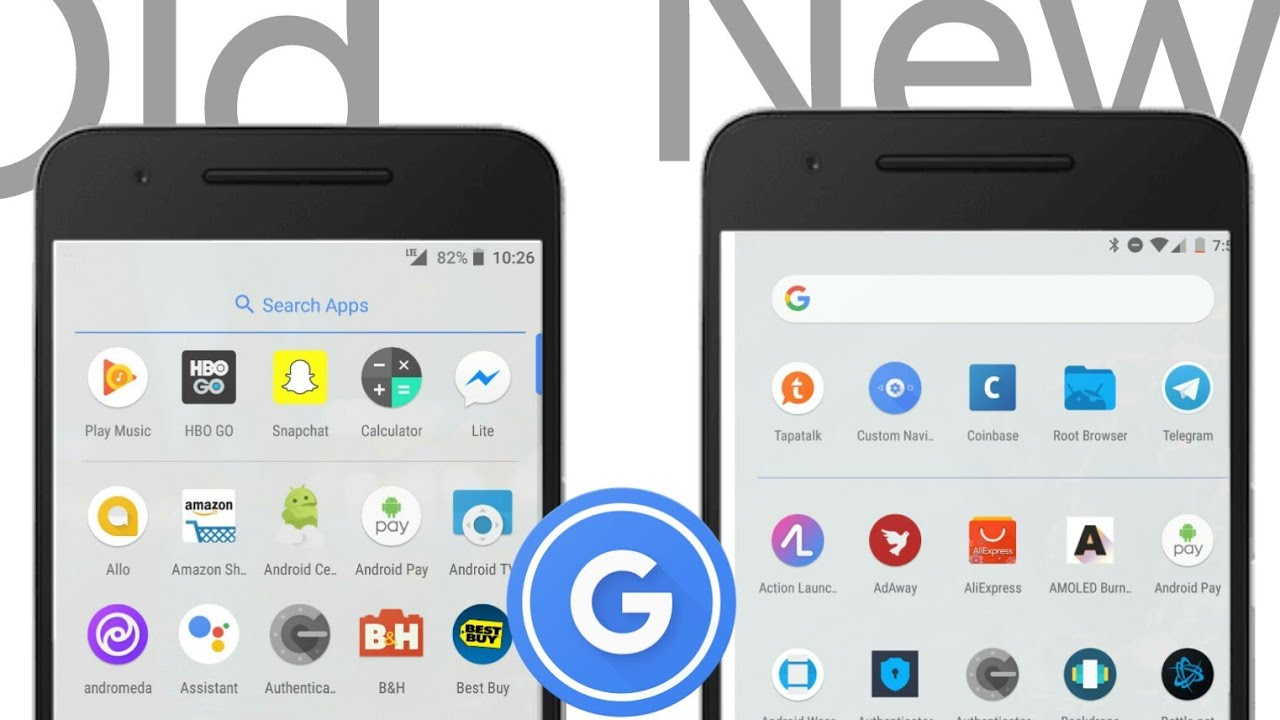 Get Updated Pixel 2 Launcher (dark theme and google bar in app drawer) On  Any Android
