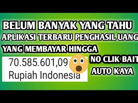 Membayar 70 juta!!! aplikasi penghasil uang terbaru || aplikasi menghasilkan uang
