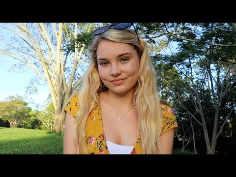 ASMR Picnic and Cloud Watching ♥