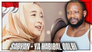 YA HABIBAL QOLBI SABYAN version INDONESIAN MUSIC REACTION