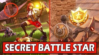 SECRET WEEK 3 BATTLE STAR LOCATION! FORTNITE WEEK 3 LOADING SCREEN *FREE TIER* (HAUNTED PARTY)