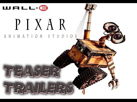 Pixar teaser trailers 1995 to 2015