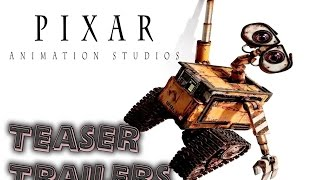 Pixar teaser trailers 1995 to 2015 (FIRST VIDEO)