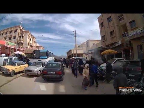 Marokkaanse markt in het Rifgebergte