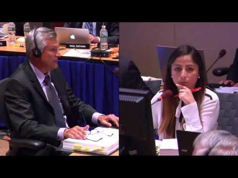 David Aven vs Costa Rica CAFTA Hearing Day 2--Video 4--ENGLISH
