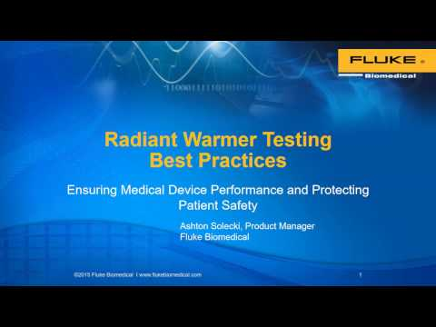 Radiant Warmer Testing Best Practices