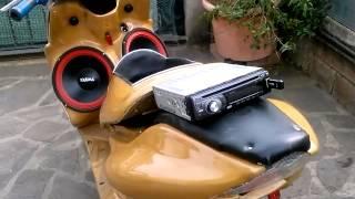 Aerox/nitro scooter audio tuning