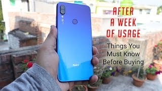 Redmi Note 7 Pro Full Detailed Review || Why Nobody Is Talking About These?