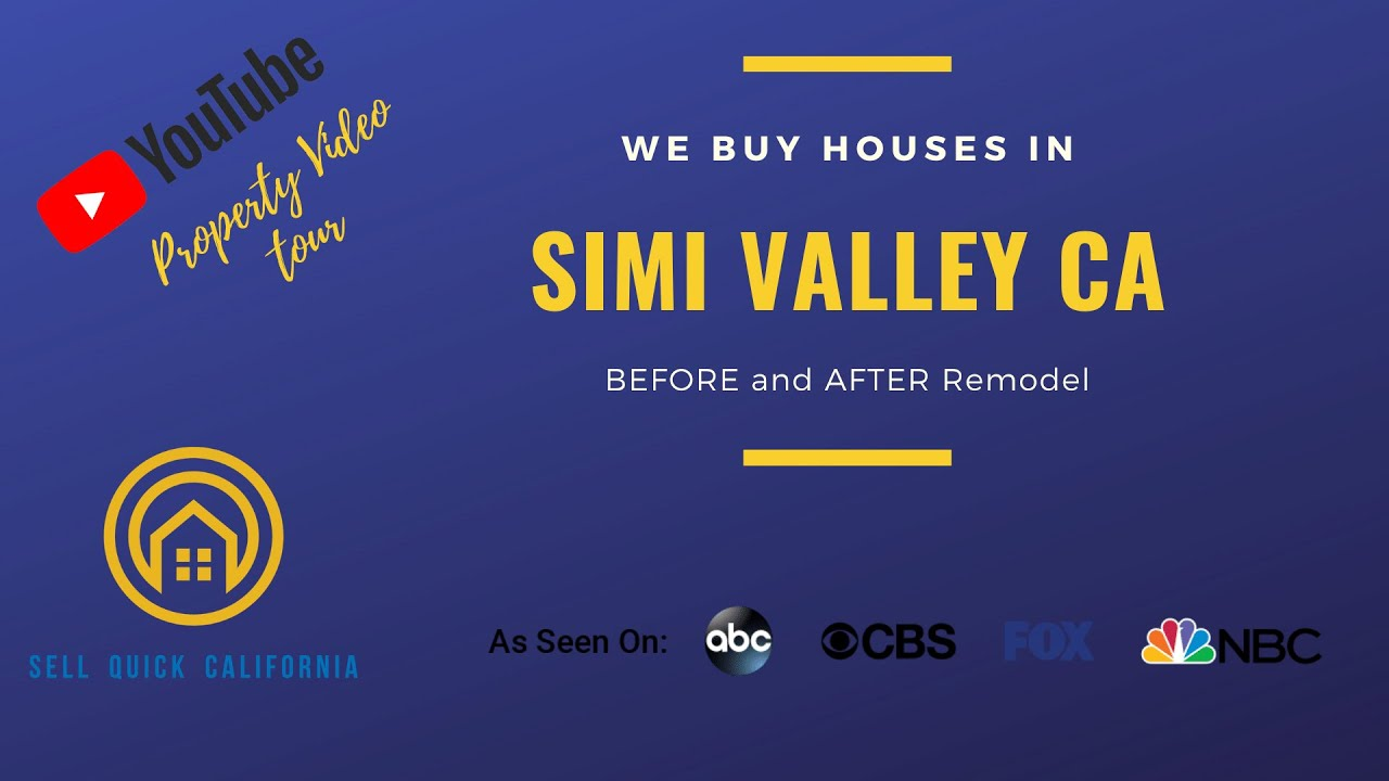 We Buy Houses Simi Valley Ca- Before and After Remodel Project by SellQuickCalifornia.com