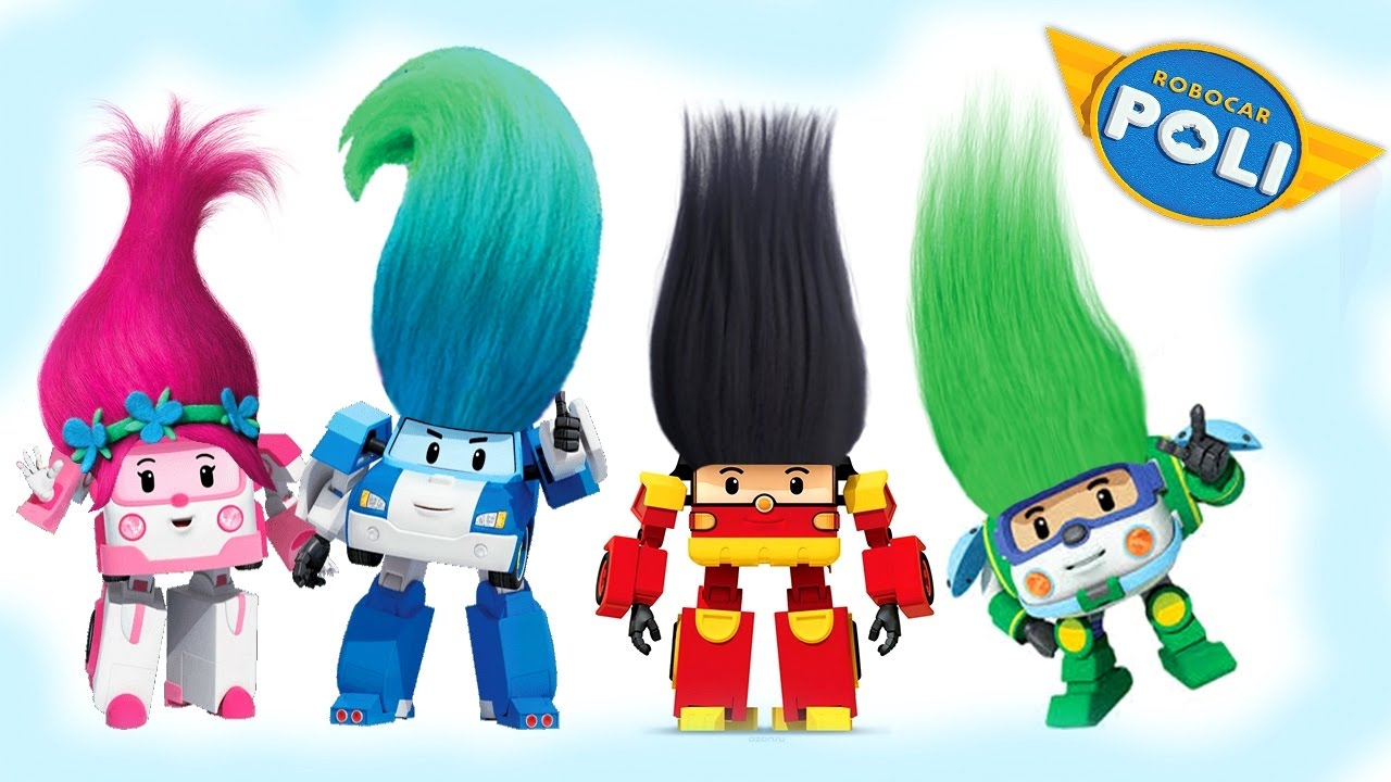 Robocar Poli Coloring Pages For Kids Book