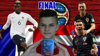 STICKER  TIN na WIELKI FINAŁ! | FRANCJA - CHORWACJA | FIFA World Cup FINAL