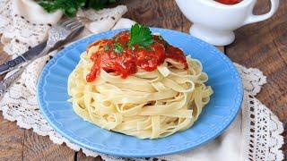 Подлива из томатной пасты - видео рецепт