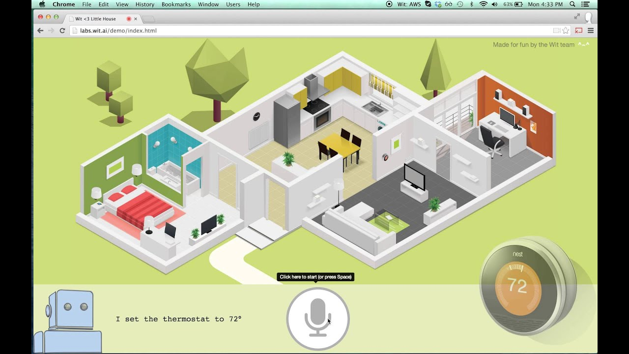 Wit home automation youtube for Home automation plan
