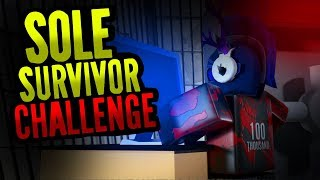SOLE SURVIVOR CHALLENGE! [Flee The Facility Challenge ROBLOX]