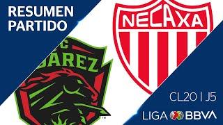 Resumen y Goles | Juárez vs Necaxa | Jornada 5 - CL 2020  | Liga BBVA MX