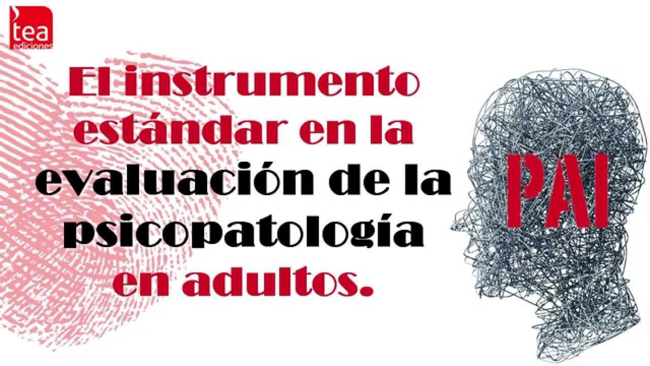 PAI. Inventario de Evaluación de la Personalidad. PDF