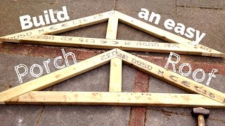 DIY Porch Roof: Building a Simple Pitched Roof Step by Step