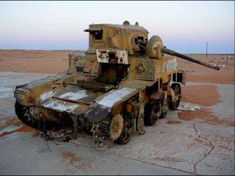 World War II Tank & Vehicle Relic's in Libya