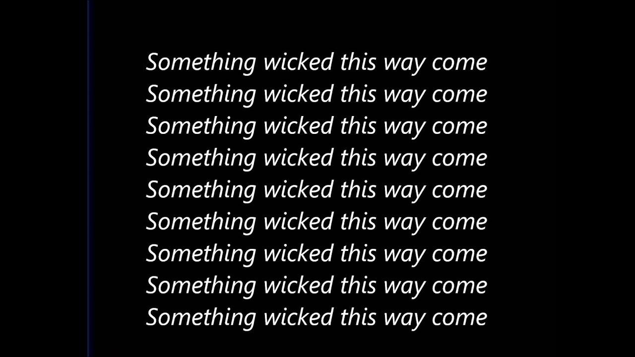 Download Tupac - Something Wicked Lyrics (On Screen)  HD