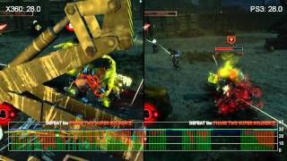 Prototype 2 Xbox 360/PlayStation 3 Gameplay Frame-Rate Analysis