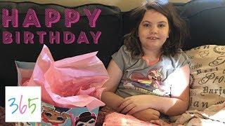 HAPPY 9TH BIRTHDAY EMMA! BIRTHDAY MORNING PRESENTS 🎁   KIDS LIFE 365   5.14.19